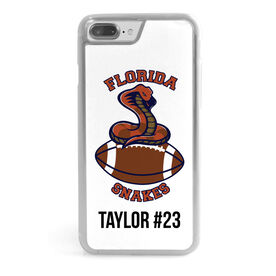 Football iPhone® Case - Custom Team Logo