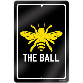 "Golf Aluminum Room Sign (18""x12"") Bee The Ball"