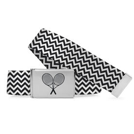 Tennis Lifestyle Belt Tennis Chevron