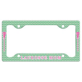 LACROSSE MOM License Plate Holder