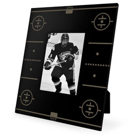 Hockey Engraved Picture Frame Rink