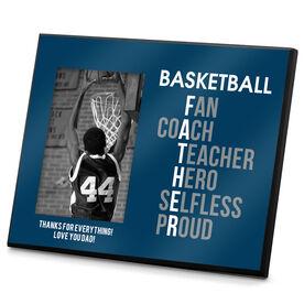 Basketball Photo Frame Basketball Father Words