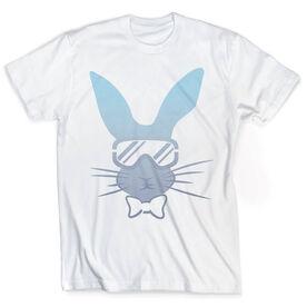 Skiing Vintage T-Shirt - Bunny