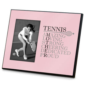Tennis Photo Frame - Mother Words