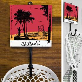 Guys Lacrosse Hook - Chillax'n Guy