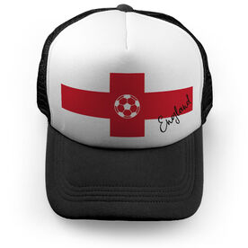 Soccer Trucker Hat - England