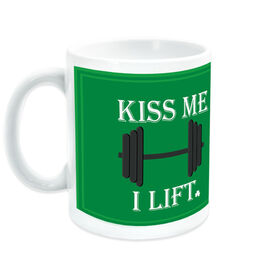 Cross Training Ceramic Mug Kiss Me I Lift