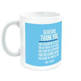 Hockey Ceramic Mug Dear Dad