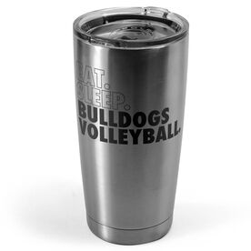 Volleyball 20 oz. Double Insulated Tumbler - Personalized Eat Sleep Volleyball