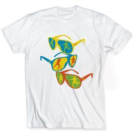 Soccer Tshirt Short Sleeve Neon Soccer Shades