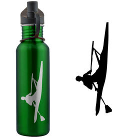 Crew Racing Shell Silhouette 24 oz Stainless Steel Water Bottle