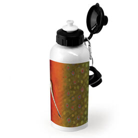 Fly Fishing 20 oz. Stainless Steel Bottle Brook Trout