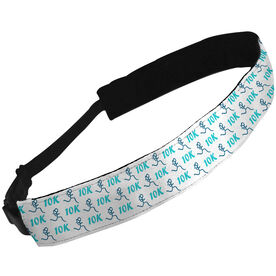 Julibands No-Slip Headbands 10K Run Girl Stick Figure