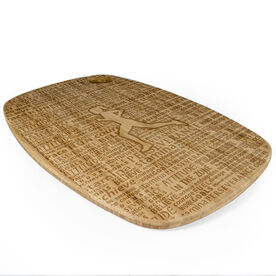 Rectangle Laser Engraved Bamboo Cutting Board Female Inspiration