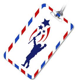Lacrosse Bag/Luggage Tag USA Spirit Lacrosse