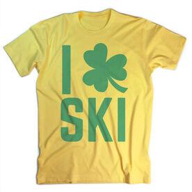 Skiing Vintage T-Shirt - I Shamrock Ski
