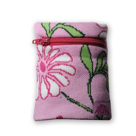 WristSTASH Sweatband Wrist Wallet - Floral