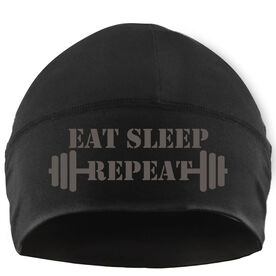 Beanie Performance Hat - Eat Sleep Train Repeat