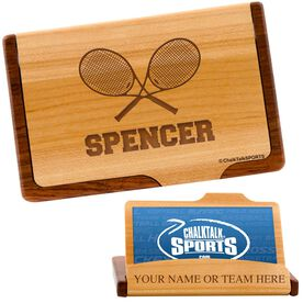 Tennis Business Card/Credit Card Holder