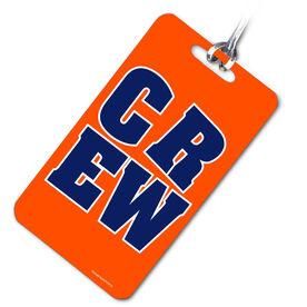 Crew Bag/Luggage Tag CREW Block (Blue/Orange)