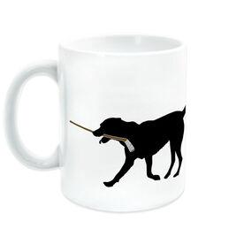 Hockey Ceramic Mug Howe the Hockey Dog