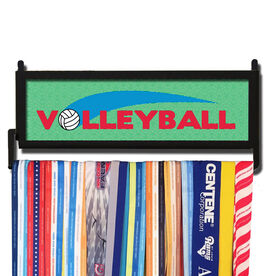 AthletesWALL Volleyball Medal Display