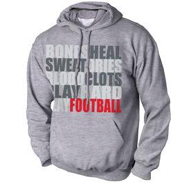 Football Standard Sweatshirt Bones Saying