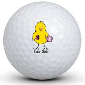 Cheer Chick Golf Balls