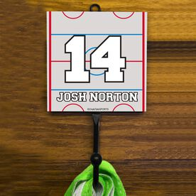 Personalized Hockey Rink Hook