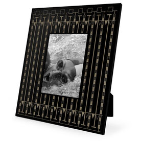 Swimming Engraved Picture Frame - Lanes