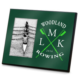 Crew Photo Frame Rowing Club Initials