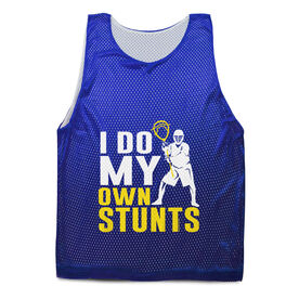 Guys Lacrosse Pinnie - I Do My Own Stunts