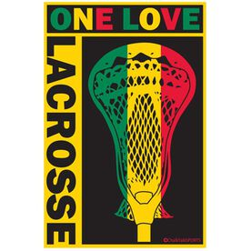 ONE LOVE LACROSSE Decal