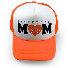 Basketball Trucker Hat Mom
