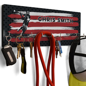 Lacrosse Hook Board USA Laxer with Your Name