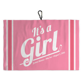 Hockey Skate Towel Hockey It's A Girl