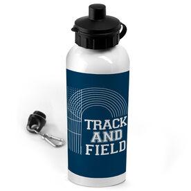 Track & Field 20 oz. Stainless Steel Water Bottle Lanes