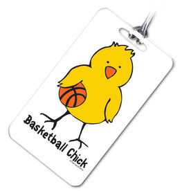 Basketball Bag/Luggage Tag Basketball Chick