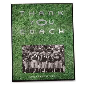 Football Photo Frame Thank You Coach