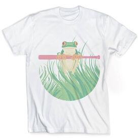 Vintage Softball T-Shirt - Frog