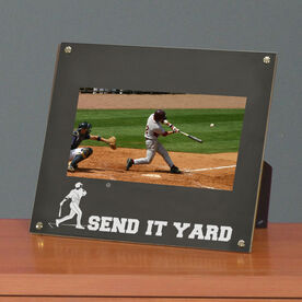 Baseball Photo Display Frame Send It Yard