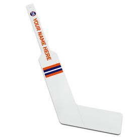 Personalized Knee Hockey Goalie Stick Player Name And Number