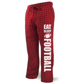 Football Lounge Pants Eat Sleep Football