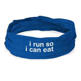 RokBAND Multi-Functional Headband - I Run So I Can Eat