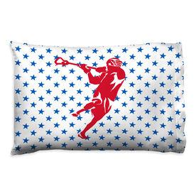 Guys Lacrosse Pillowcase - Star Laxer
