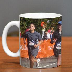Running Ceramic Mug Custom Photo