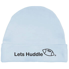 Let's Huddle Football Baby Cap