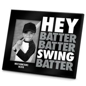 Baseball Photo Frame Hey Batter