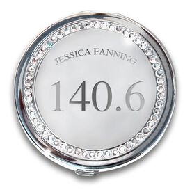 Silver Personalized 140.6 Compact Mirror