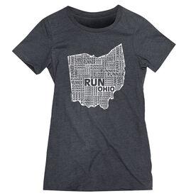 Women's Everyday Runners Tee Ohio State Runner